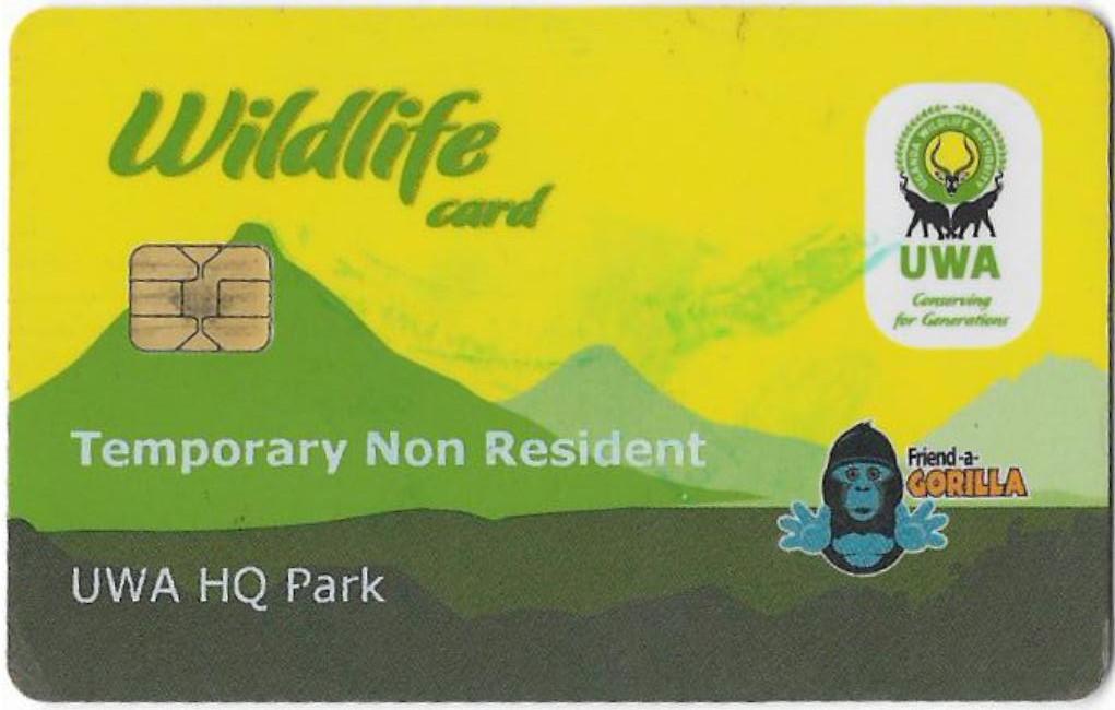 Gorilla trekking permit Uganda